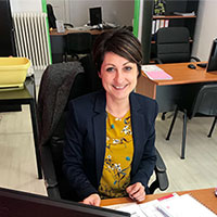 Alexandra, responsable des formations